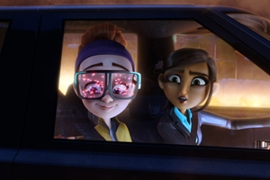 Spies in Disguise cast photo