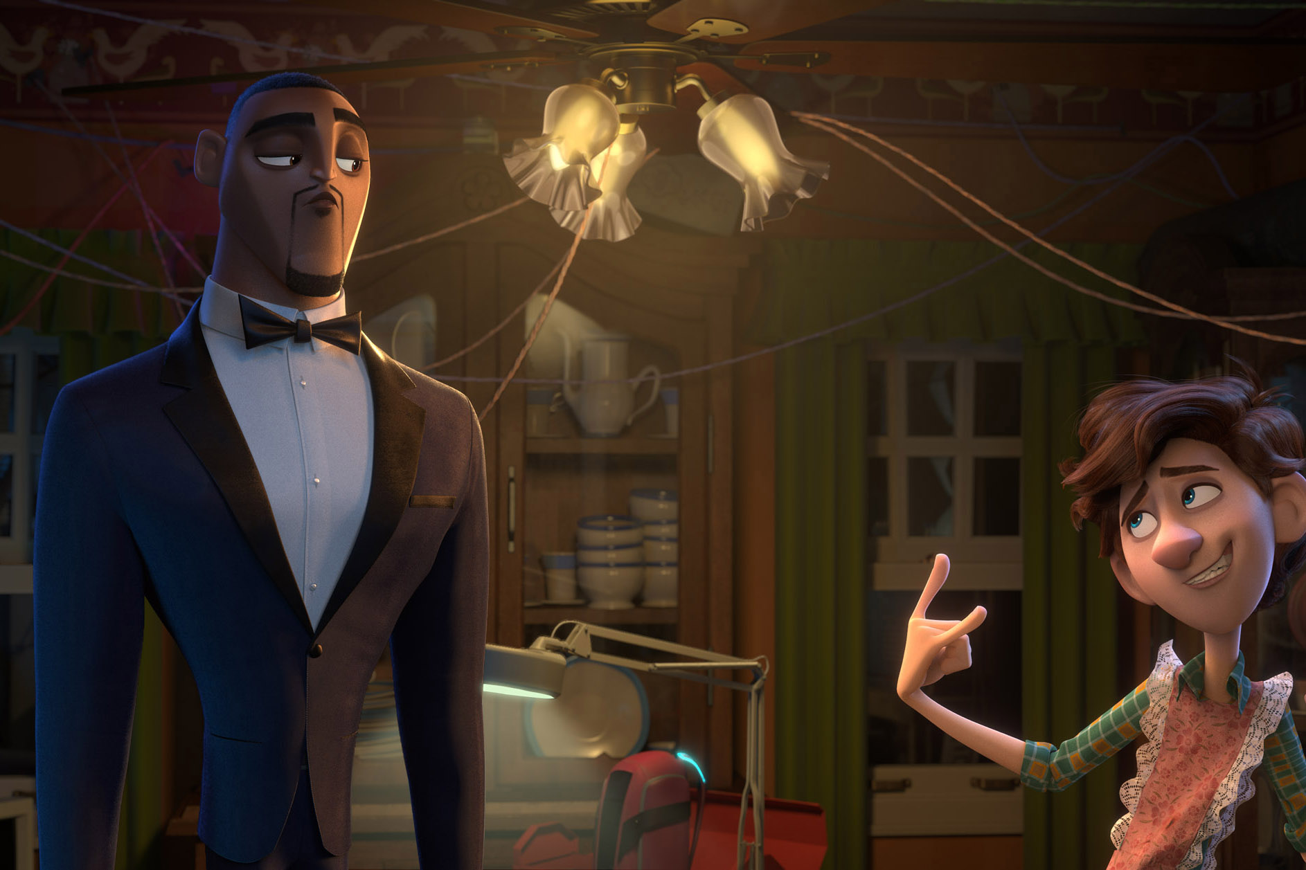 Still 9 for Spies in Disguise