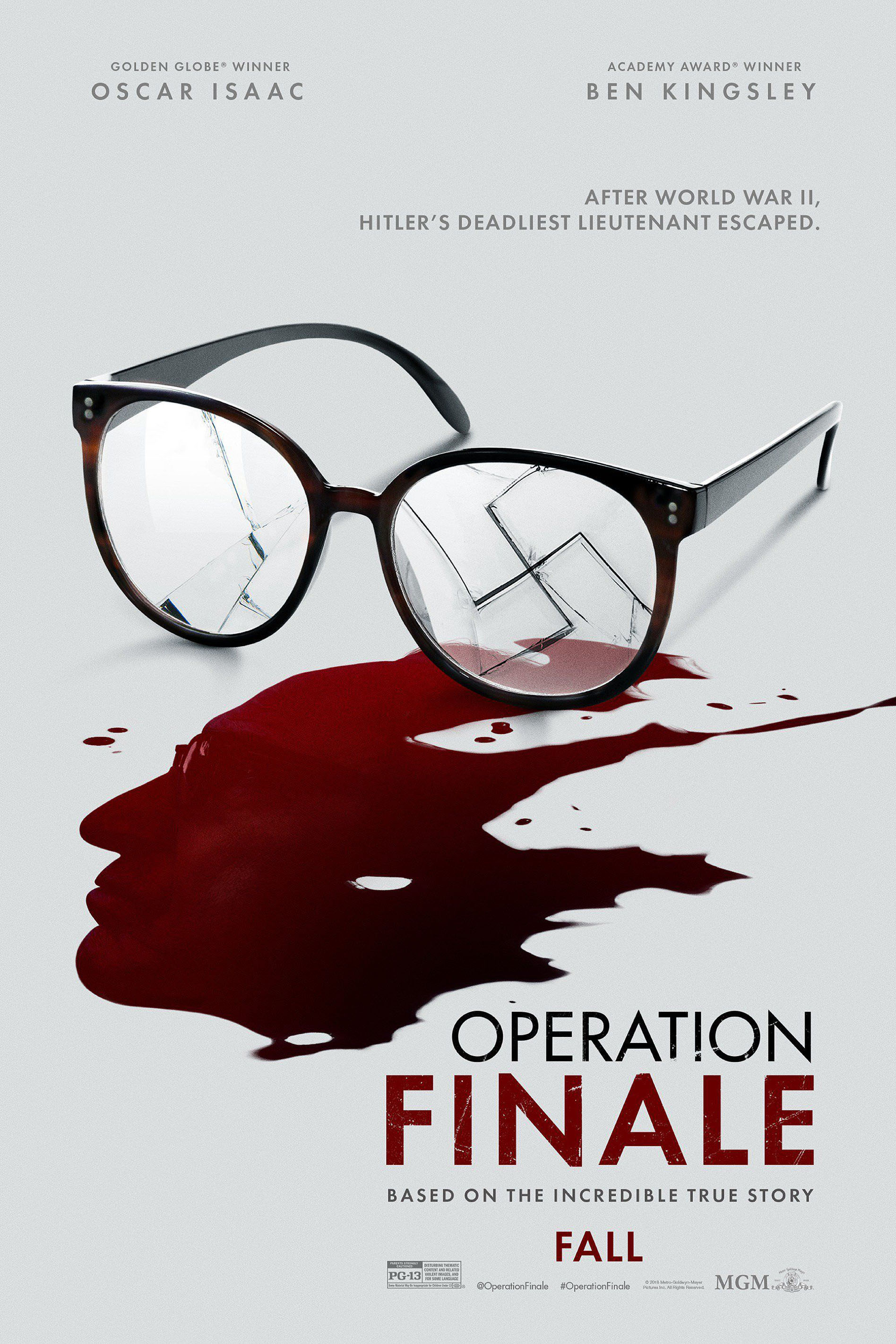 Poster for Operation Finale
