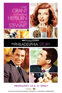 Poster of The Philadelphia Story (1940) presented by TCM