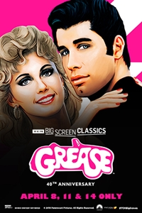 Poster of Grease 40th Anniversary (1978) presented by TCM