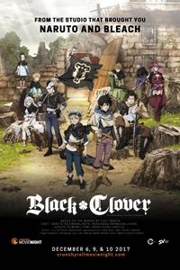 Black Clover Poster