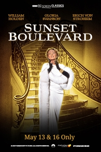 Poster of Sunset Boulevard (1950) presented by ...