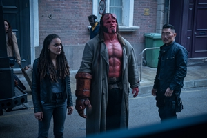 Still of Hellboy