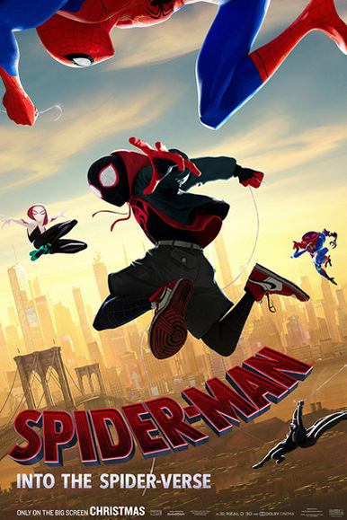 Poster for Spider-Man: Into the Spider-Verse