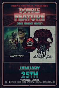 Poster of Dread Central Presents: Turbo Kid and Zombiology D