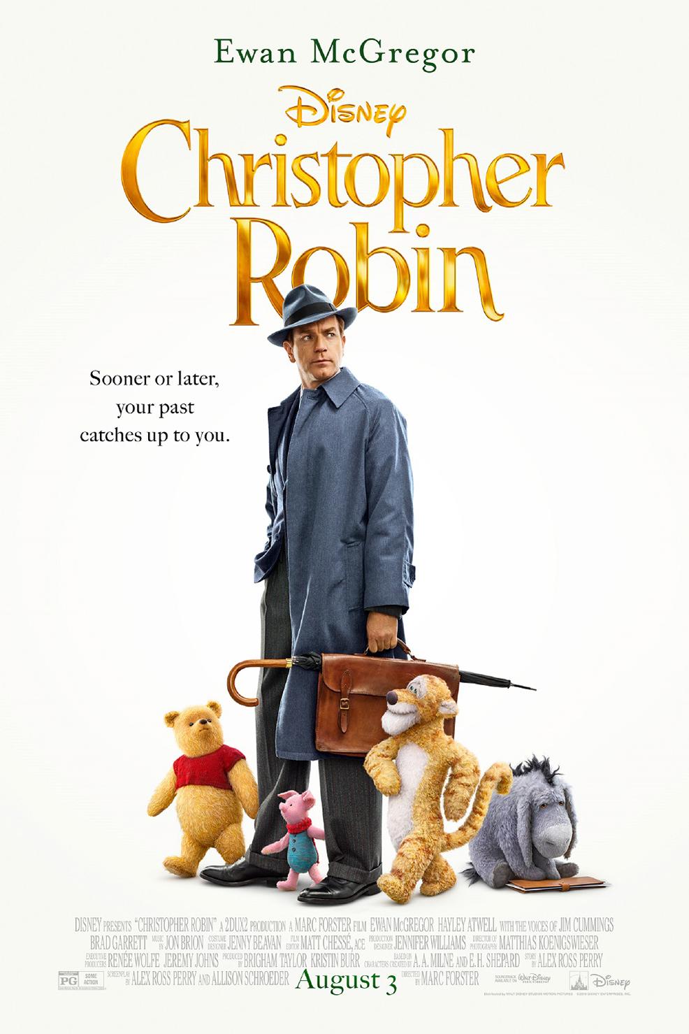 Poster for Disney's Christopher Robin