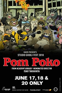 Pom Poko - Studio Ghibli Fest 2018