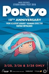 Ponyo 10th Anniversary - Studio Ghibli Fest 2018