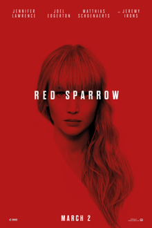 Poster for Red Sparrow: The IMAX 2D Experience