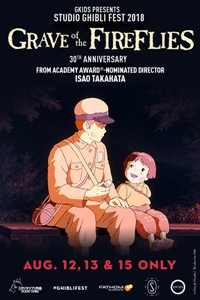 Poster of Grave of the Fireflies - Studio Ghibl...