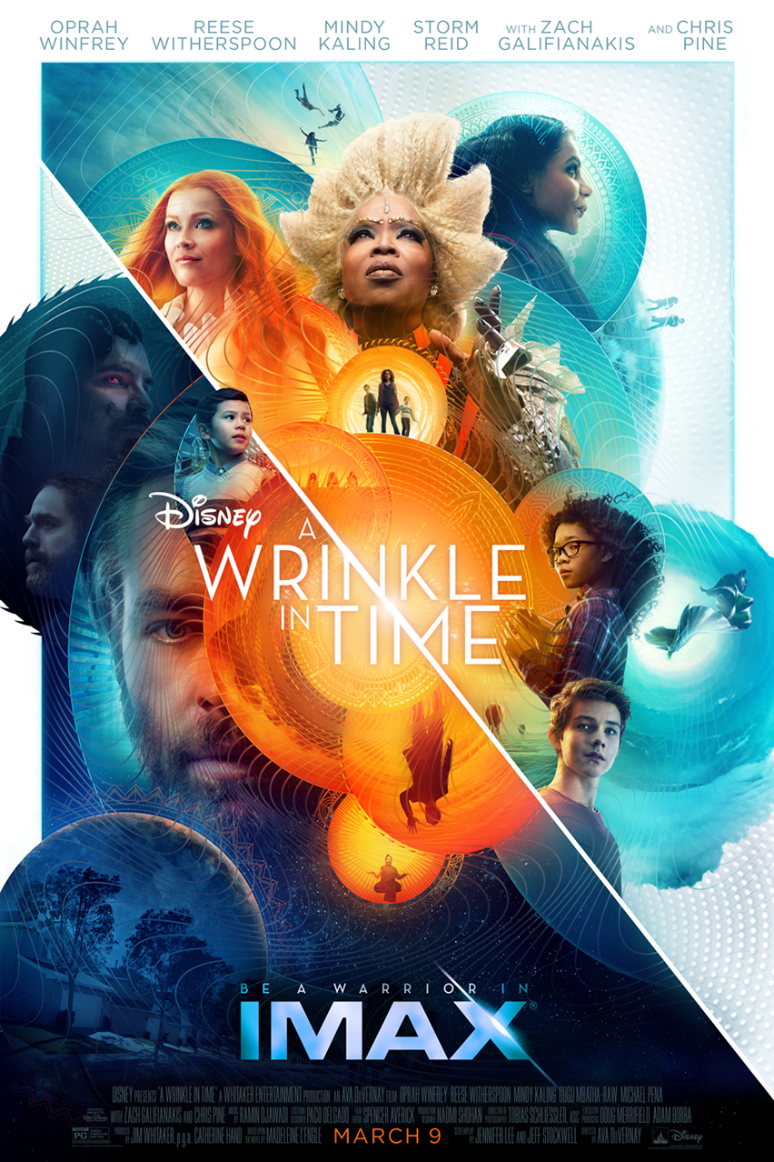 Poster for A Wrinkle in Time: An IMAX 2D Experience