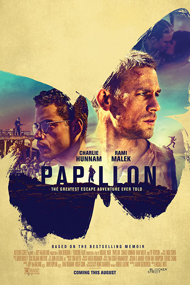 Poster for Papillon