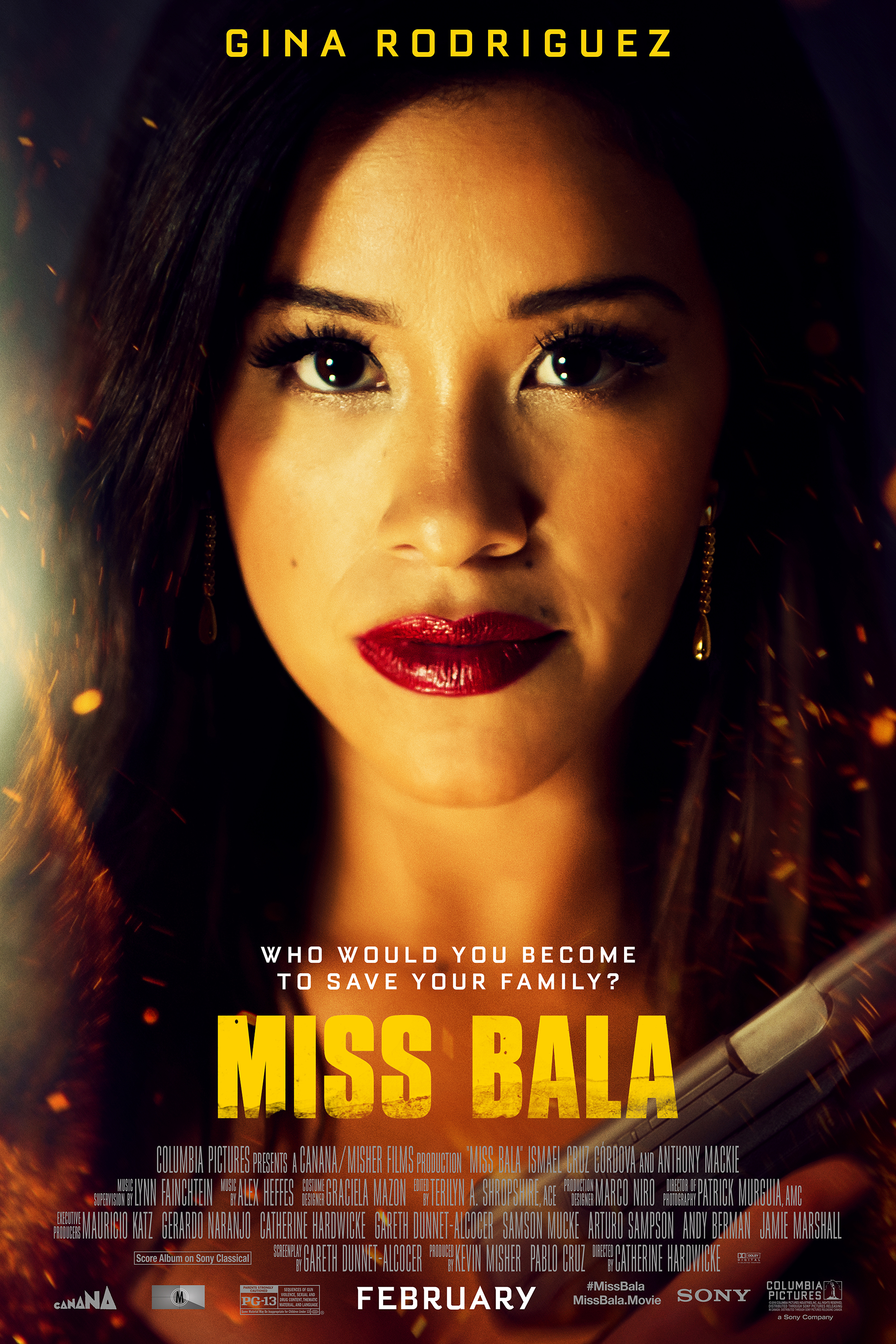 Poster for Miss Bala