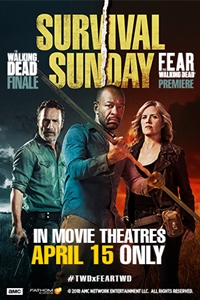 Poster of Survival Sunday: The Walking Dead/Fear the Walking Dead