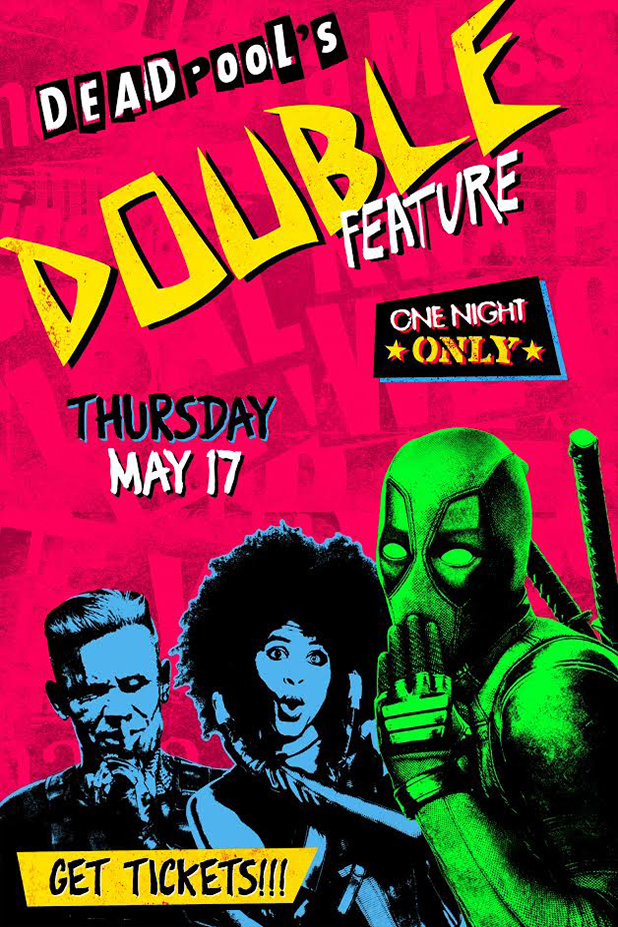 Poster for Deadpool Double Feature