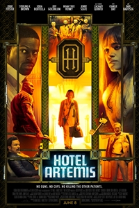 Caption Poster for Hotel Artemis