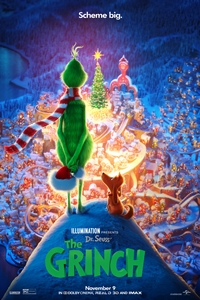 Dr. Seuss' The Grinch in 3D Poster