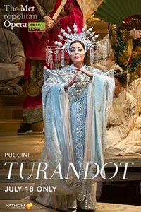 Poster for Met Summer Encore: Turandot
