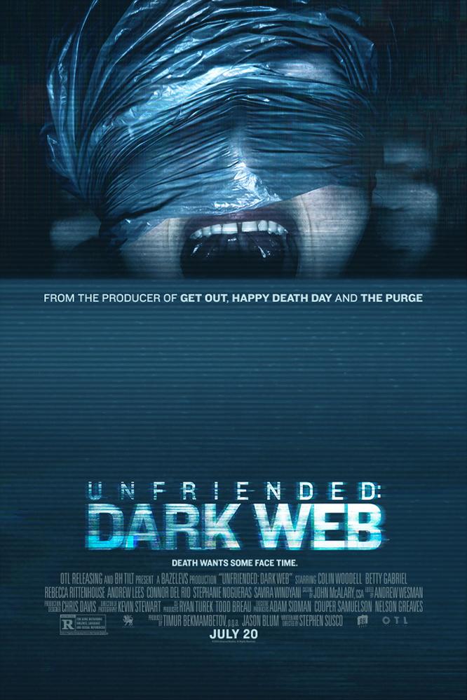 Poster of Unfriended: Dark Web
