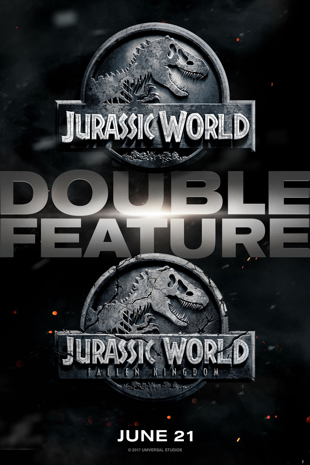 Poster for Jurassic World Double Feature