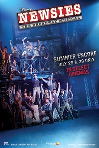 Poster of DISNEY'S NEWSIES: THE BROADWAY MUSICA...