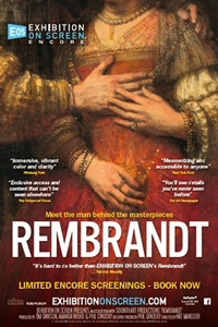 Poster of Exhibition on Screen: Rembrandt