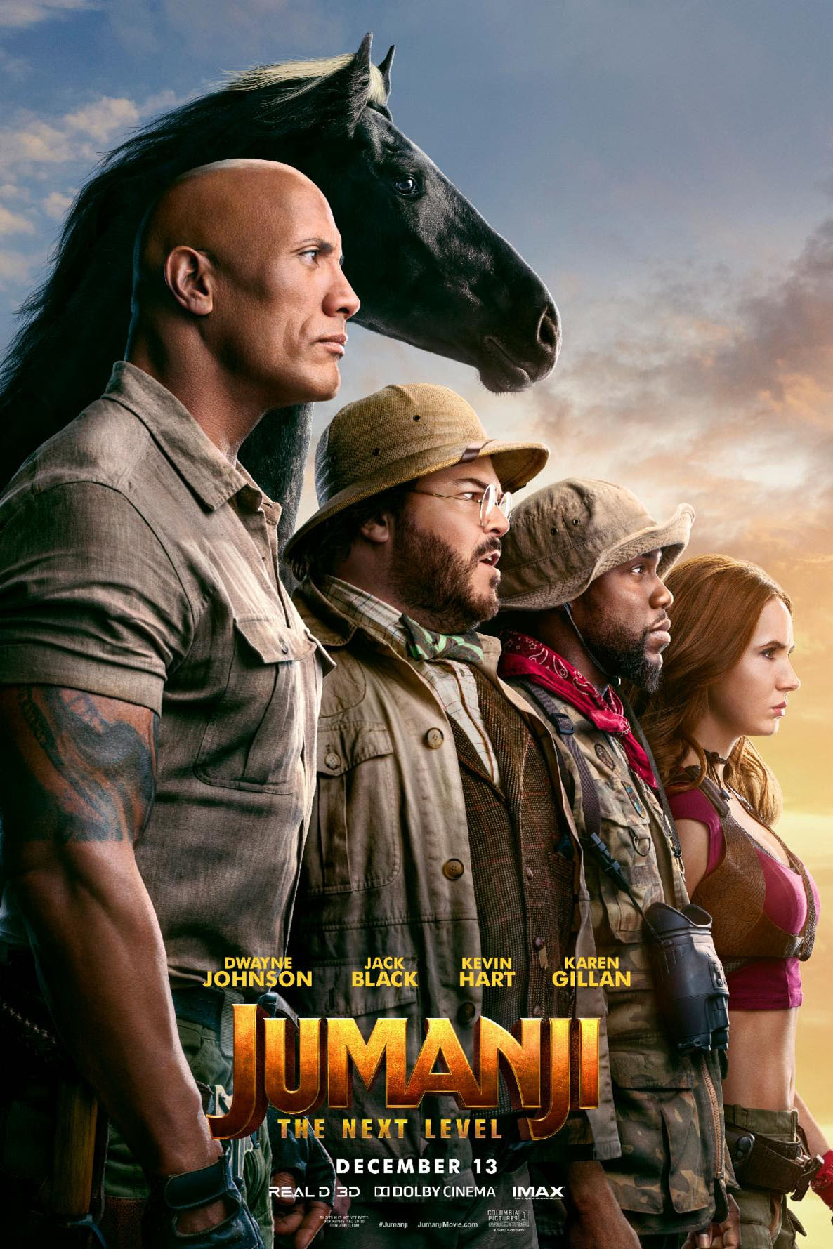 Poster for Jumanji: The Next Level
