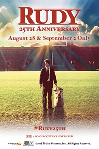 Poster of Rudy 25th Anniversary
