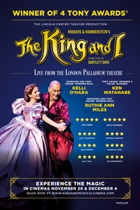 The King and I: From The London Palladium Poster