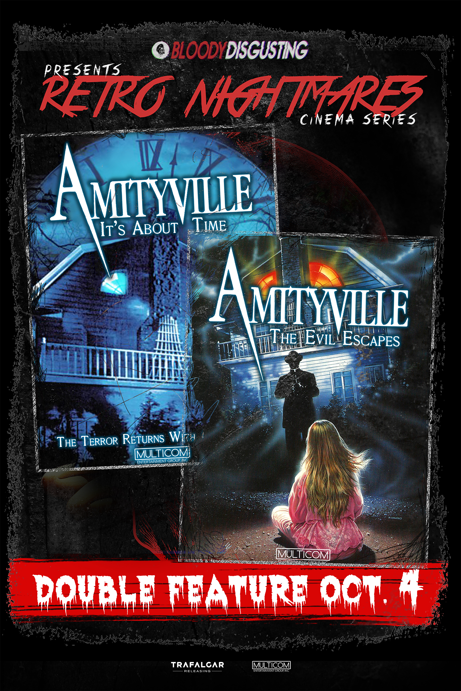 Poster of Bloody Disgusting Presents Amityville Double Featu