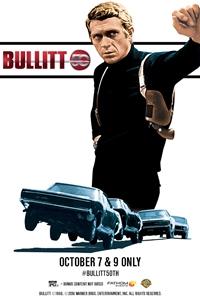 Poster of Bullitt 50th Anniversary