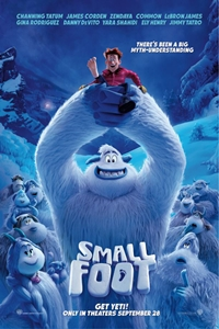 Smallfoot in 3D Poster