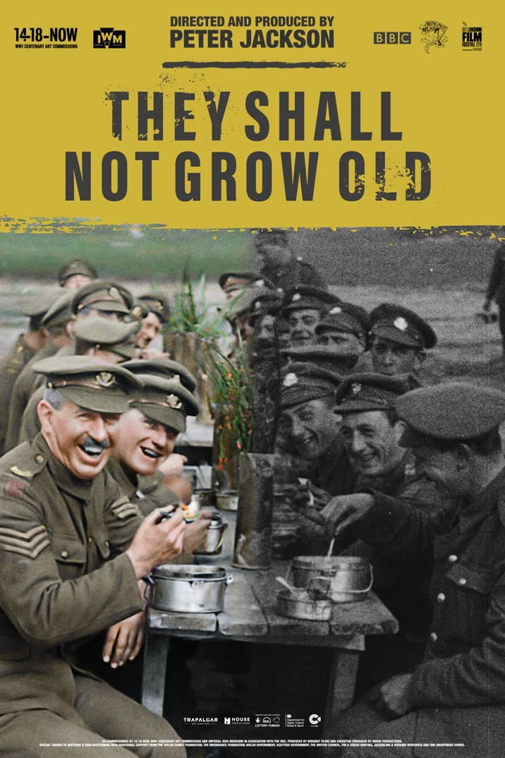 Poster for They Shall Not Grow Old (2018)