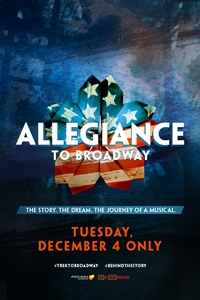 Poster of Allegiance to Broadway
