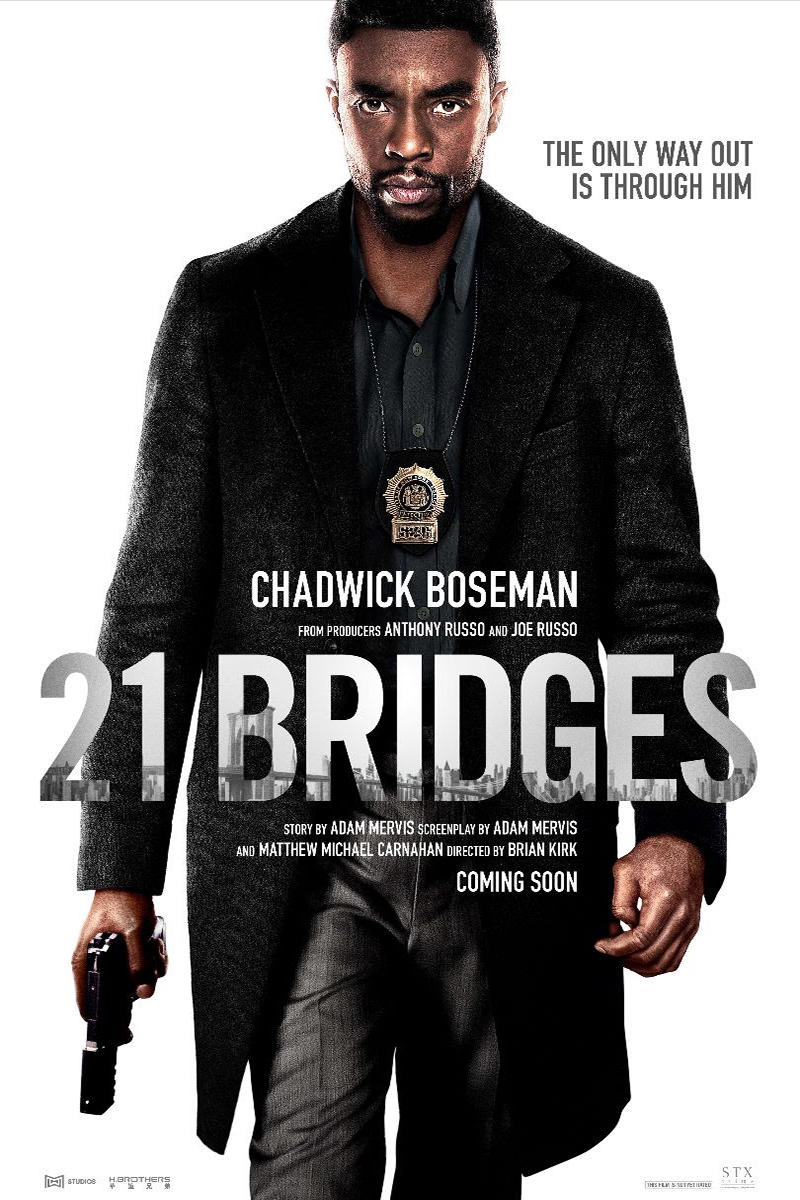 Poster for 21 Bridges