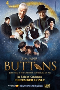 Poster of Buttons: A New Musical Film