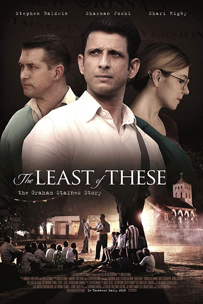 Poster for The Least of These: The Graham Staines Story