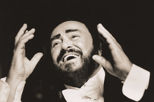 Pavarotti cast photo