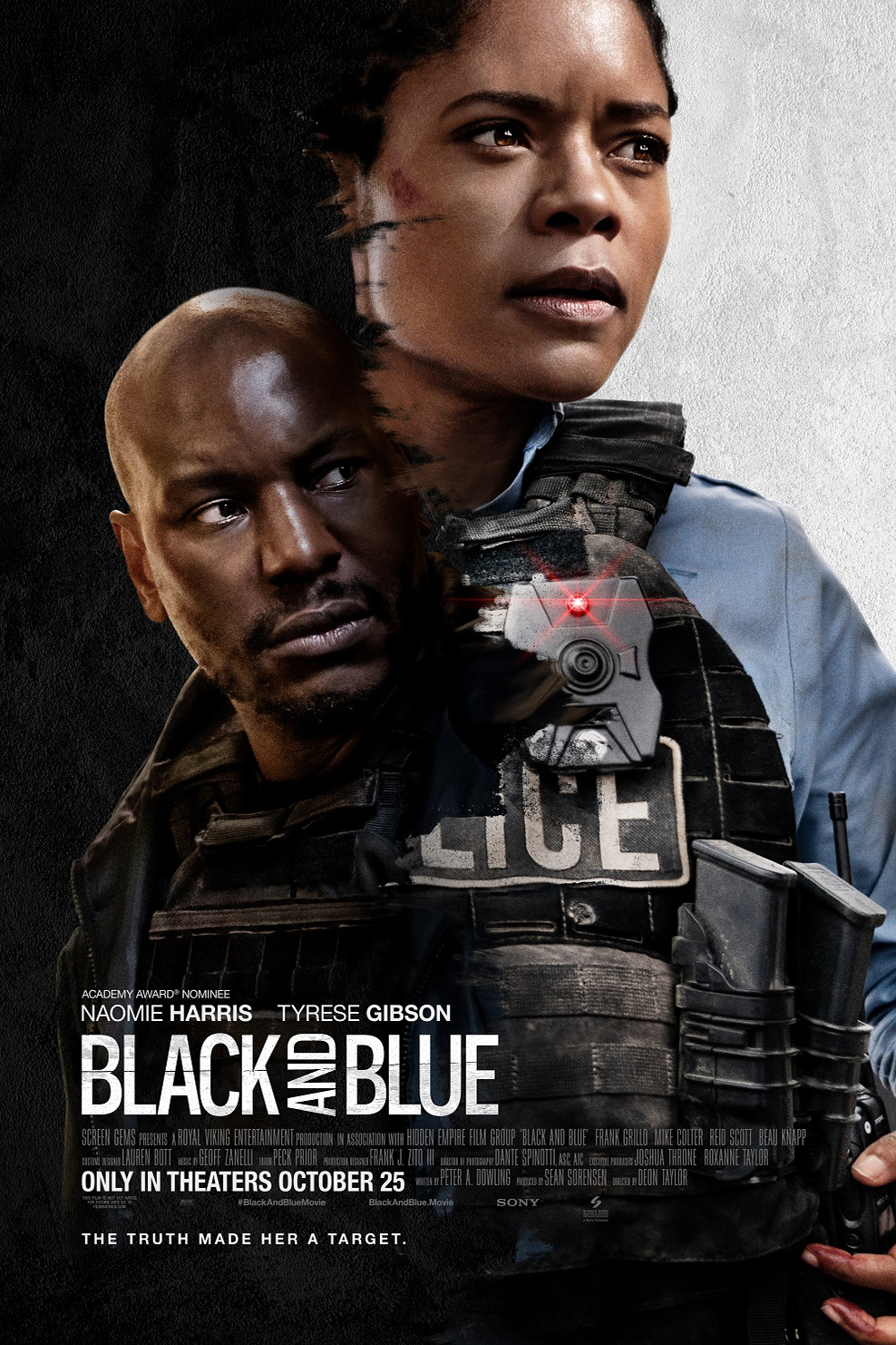 Poster for Black and Blue
