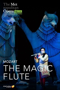 Poster of Metropolitan Opera: The Magic Flute Holiday Encore