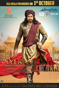 Poster of Sye Raa Narasimha Reddy (Hindi)