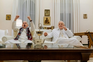 The Two Popes cast photo