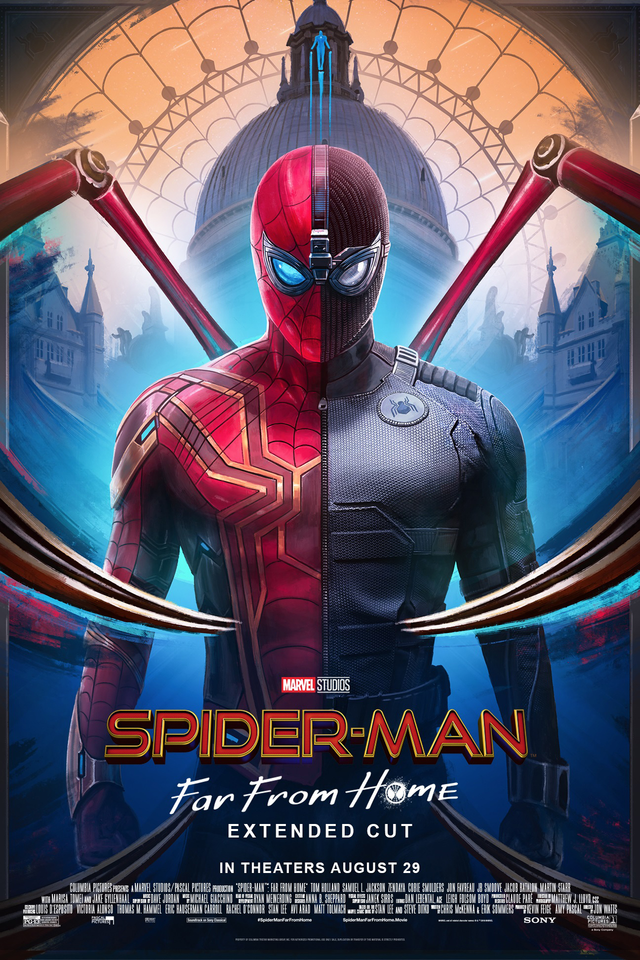 Poster for Spider-Man: Far From Home - Extended Cut