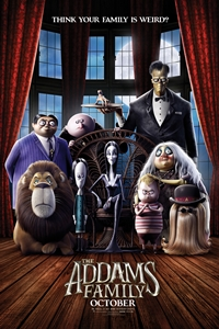 Poster of La famille Addams 3D