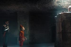 Pinocchio cast photo