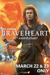 Poster of Braveheart 25th Anniversary
