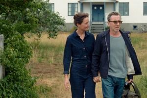 Bergman Island cast photo