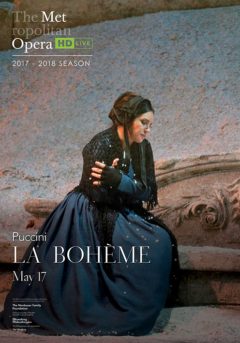 Poster of The Metropolitan Opera: La Boheme