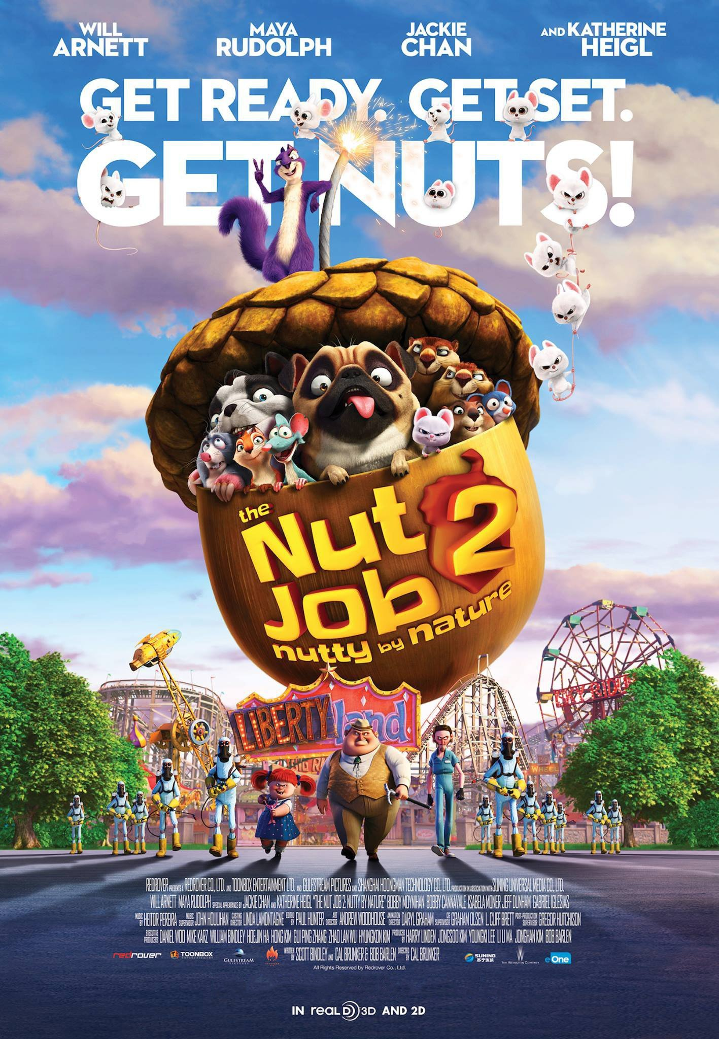 Poster of Nut Job 2: Nutty By Nature